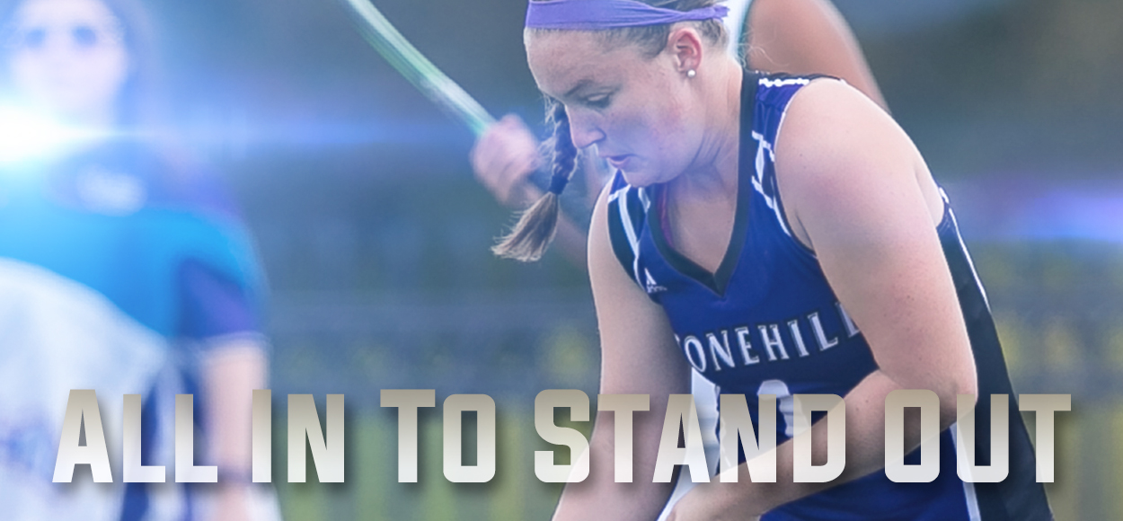 Stonehill's Record-Breaker, Kacie Smith, Featured by the NCAA, Sports Illustrated
