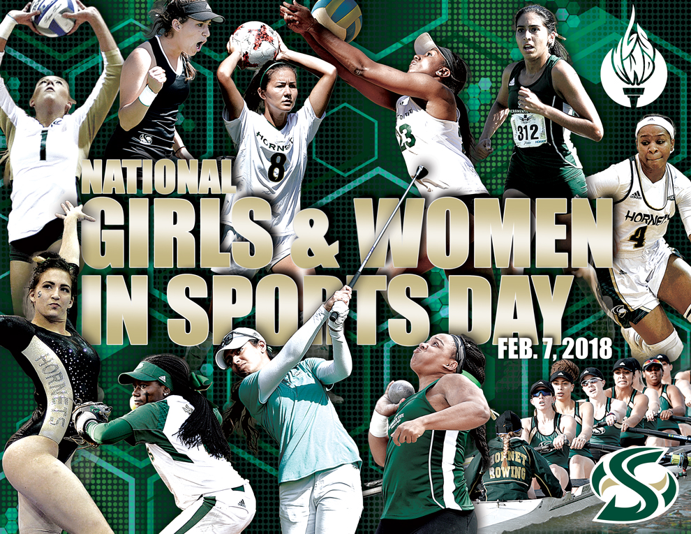 HORNET ATHLETES CELEBRATE NATIONAL GIRLS & WOMEN IN SPORTS DAY