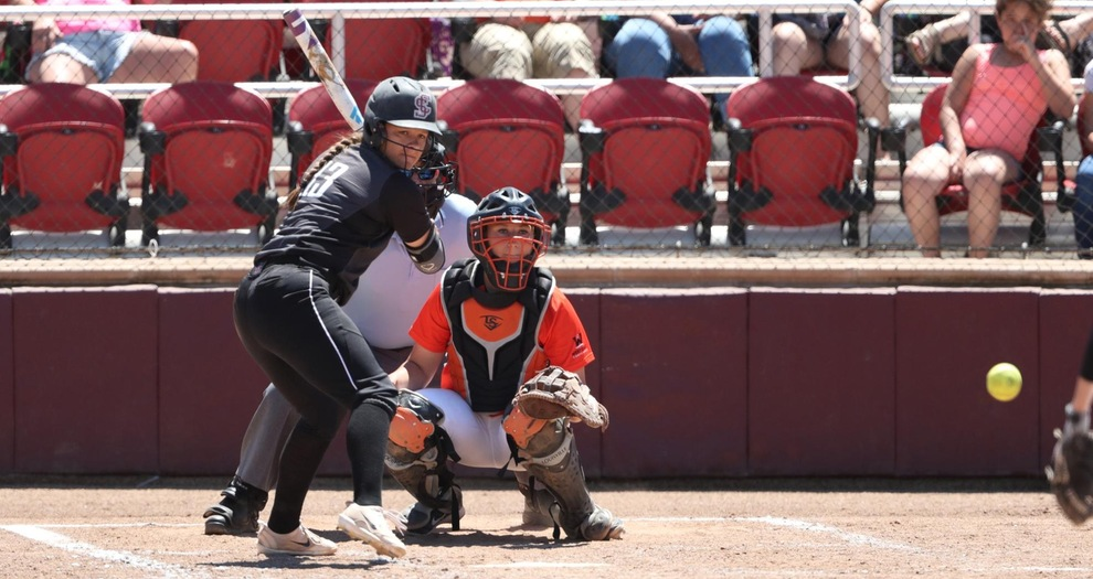 Softball Drops a Pair of Close Games to No. 20 BYU