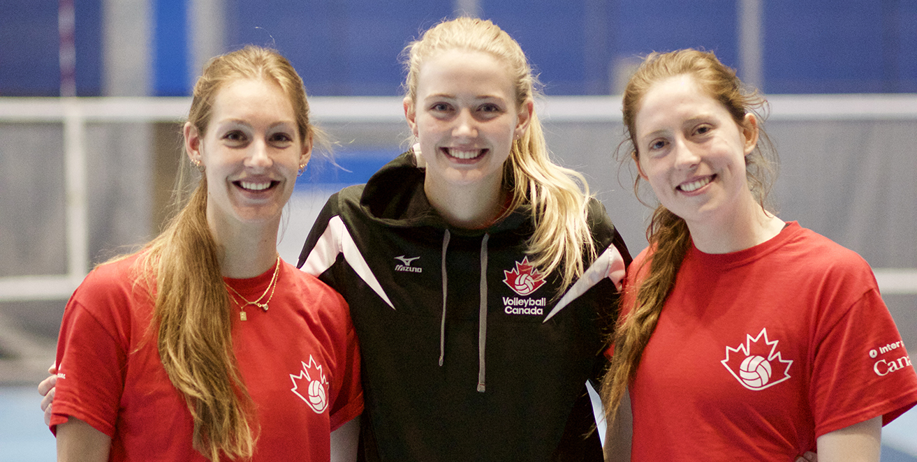 Photo courtesy of Volleyball Canada