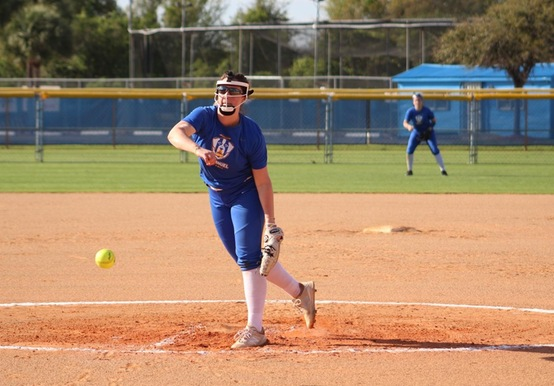 SOFTBALL DROPS TWO AGAINST ROANOKE & DOMINICAN