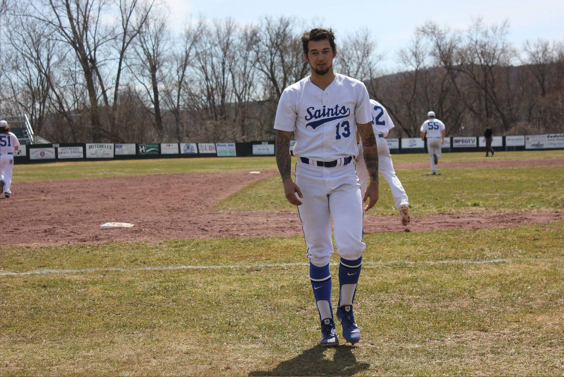 Holmberg, Fighting Saints ranked Top-15 in USCAA