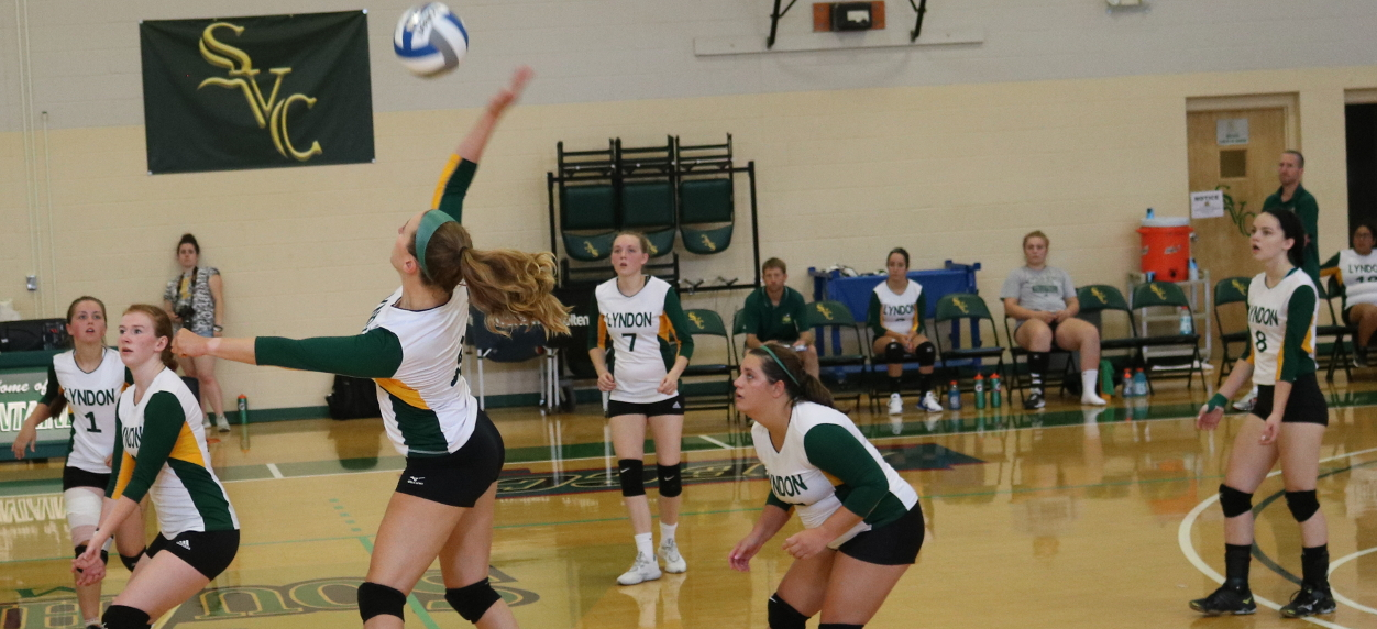 Hornet volleyball falls to Bay Path and MCLA at Castleton quad