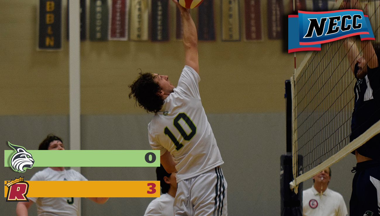 Men's Volleyball Falls to Pride in Three Sets