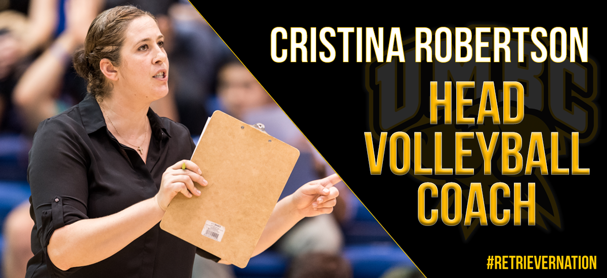 Cristina Robertson Named Head Volleyball Coach