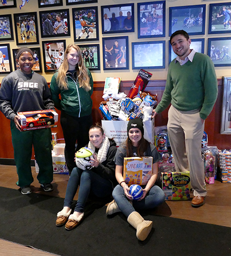 Sage SAAC Collects Toys for Annual Toys for Tots Drive