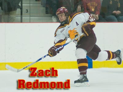 Zach Redmond Named 2009-10 CCHA Preseason All-Conference Honorable Mention