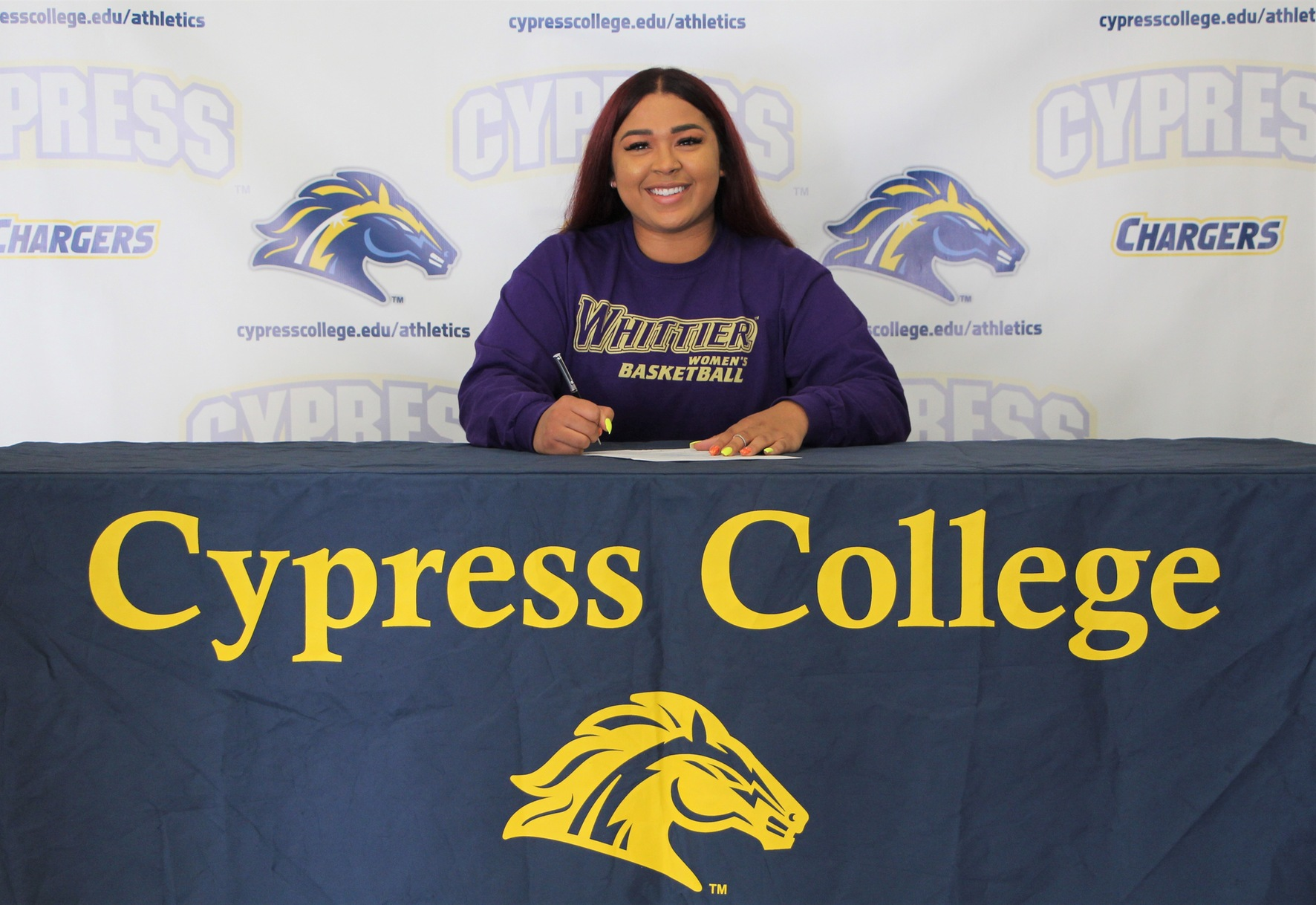 Christa Evans Commits to Whittier College