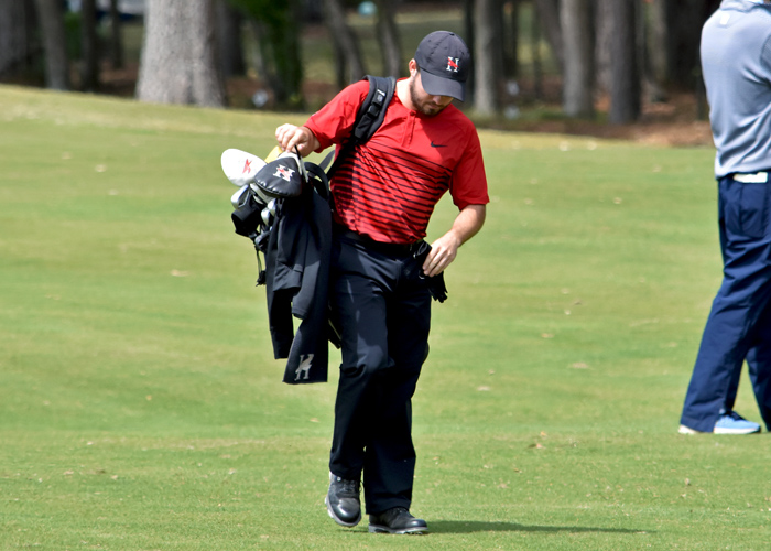 2nd-ranked Huntingdon tied for 4th after Rd. 1 of Jekyll Island Invitational