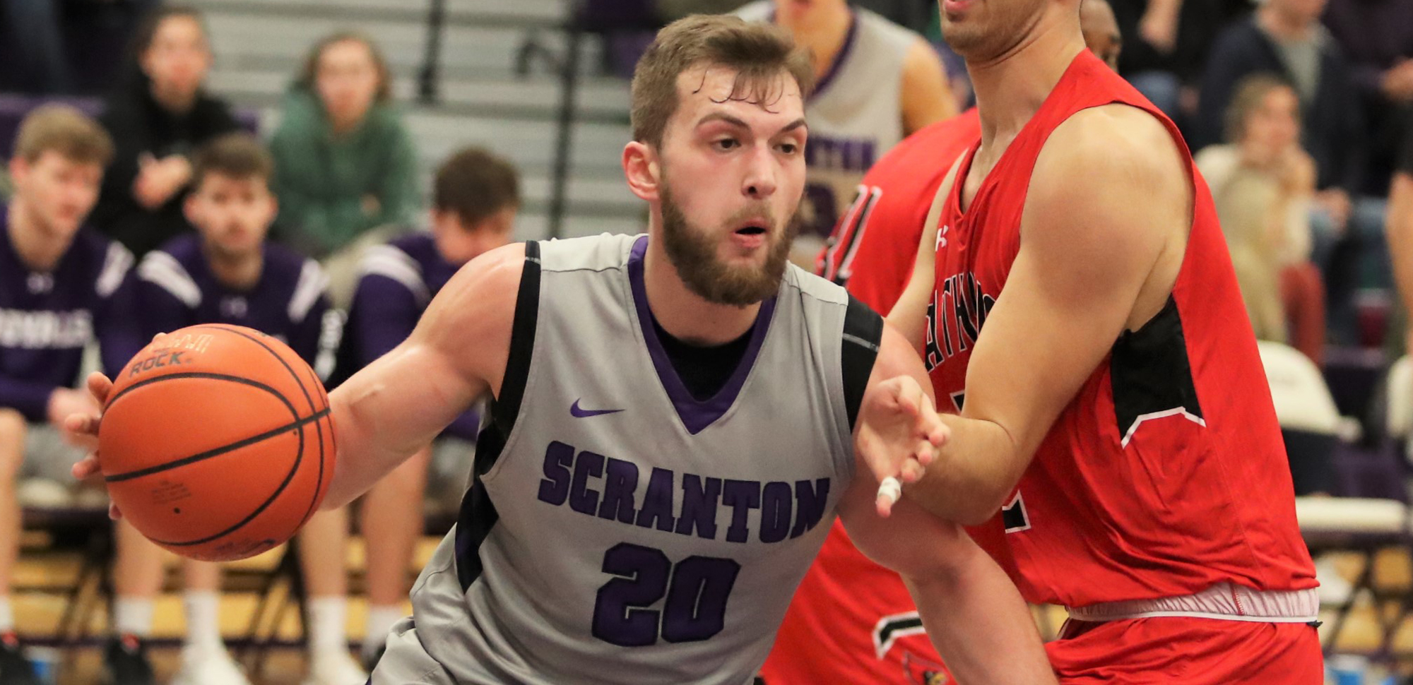 Senior Matt Mancuso was named the Scranton Athlete of the Week for the third time in his career on Monday. © Photo by Timothy R. Dougherty / doubleeaglephotography.com