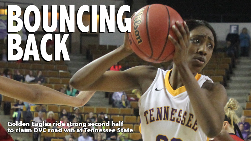 Golden Eagles power past Tennessee State for nine-point OVC road victory