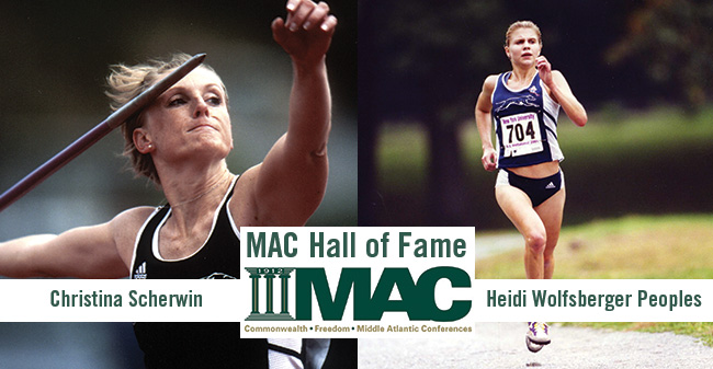 Former Greyhounds Christina Scherwin '05 & Heidi Wolfsberger Peoples '02 Selected to MAC Hall of Fame