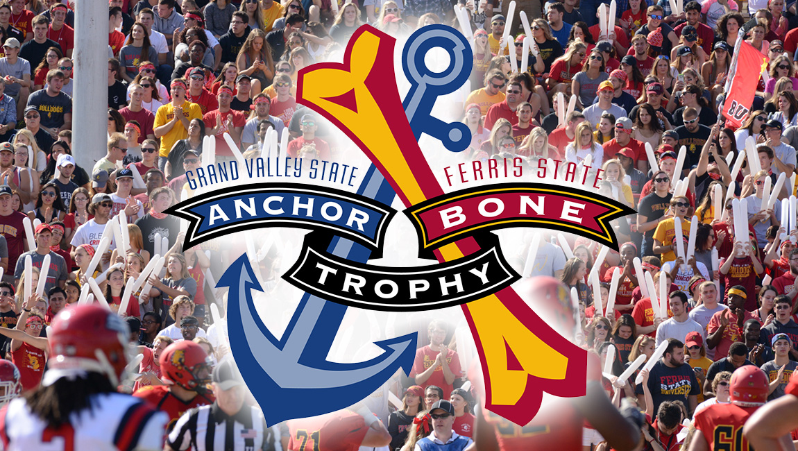 PREVIEW: Ferris State Faces Rival GVSU In Anchor-Bone Showdown Saturday Night