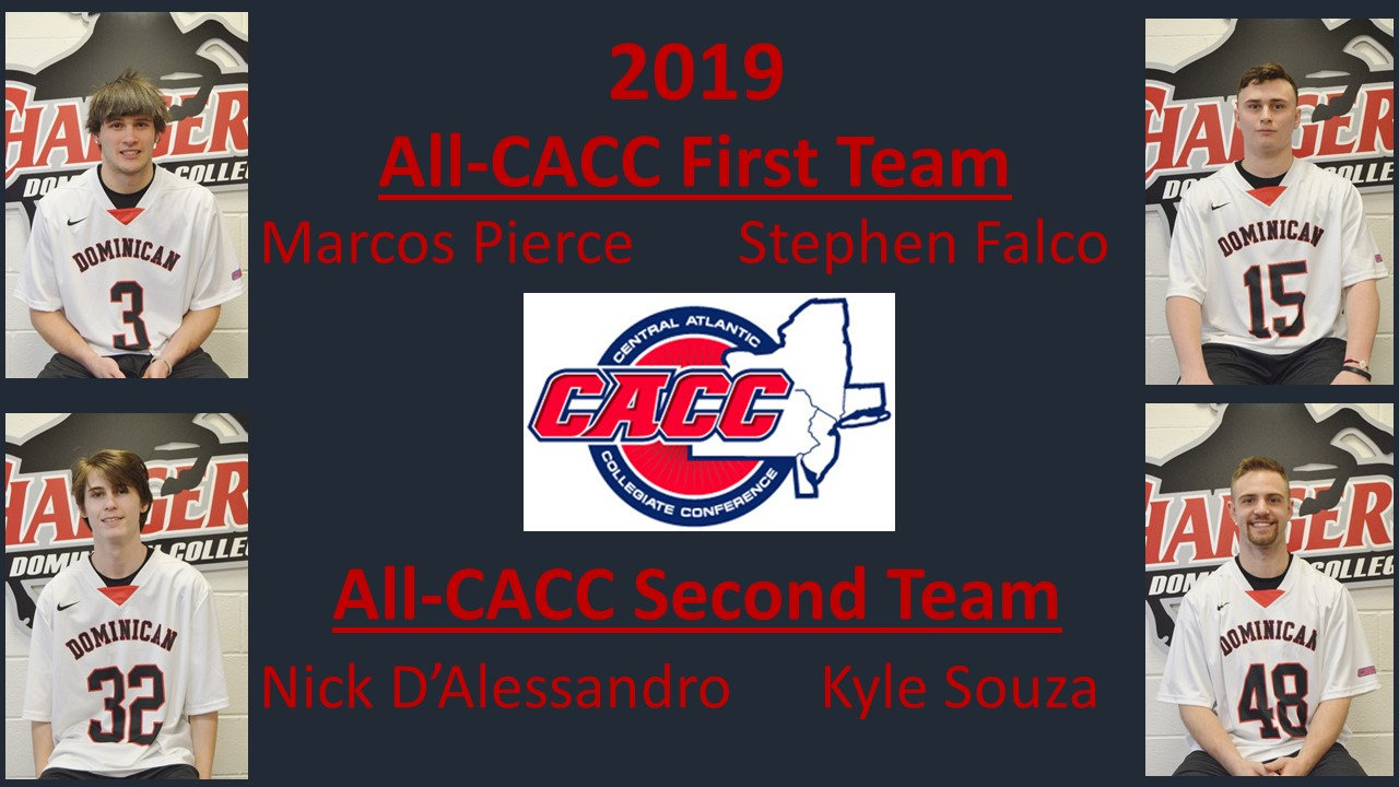 DOMINICAN LANDS FOUR ON ALL-CACC MEN'S LACROSSE TEAMS