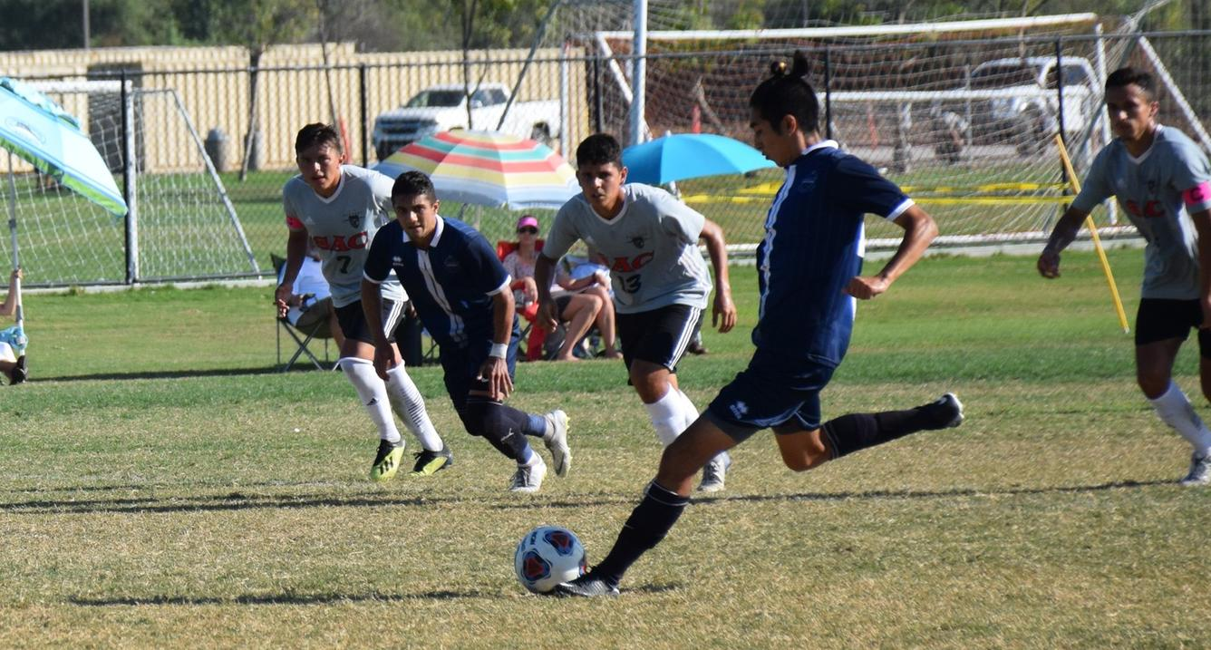 Men's soccer team earns hard-fought draw against Santa Ana