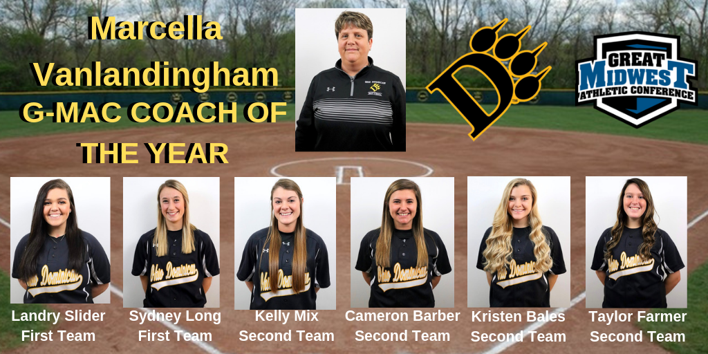 Vanlandingham Named G-MAC Coach of the Year; Six Players Named to All-Conference Teams