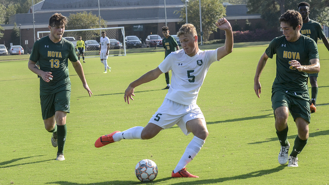 Men's Soccer Makes Stunning Comeback Against NOVA
