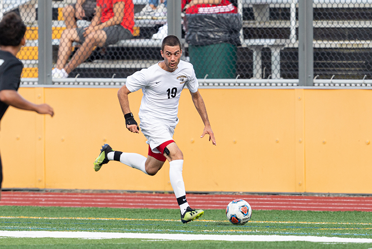 Strong Second Half Propels Men's Soccer Past Westfield State