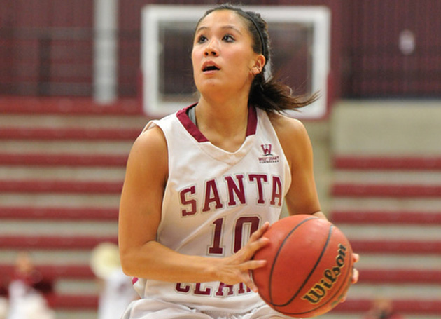 Alyssa Shoji to Represent Santa Clara in the 2012 State Farm College Slam Dunk & 3-Point Championships