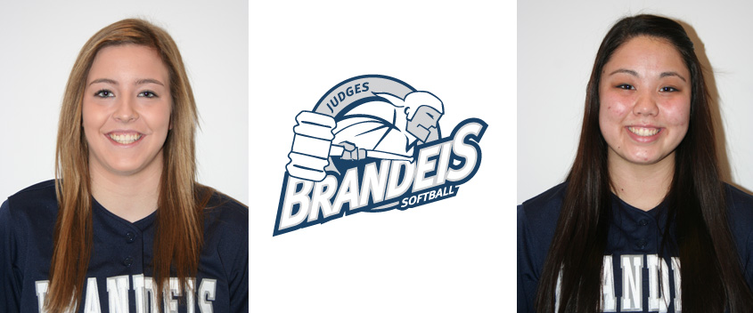 Brandeis softball falls to #21 Washington University (Mo.) and #2 Emory University
