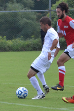 Geaton Caltabiano recorded a pair of assists in the win over Radford.