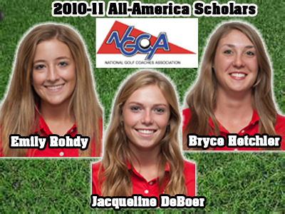 Three Bulldog Women's Golf Student-Athletes Receive All-America Scholar Recognition