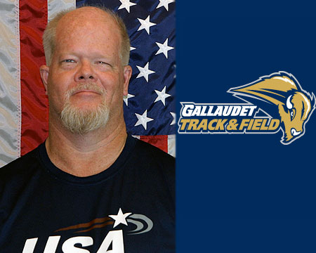 Withrow named new Gallaudet Track and Field head coach