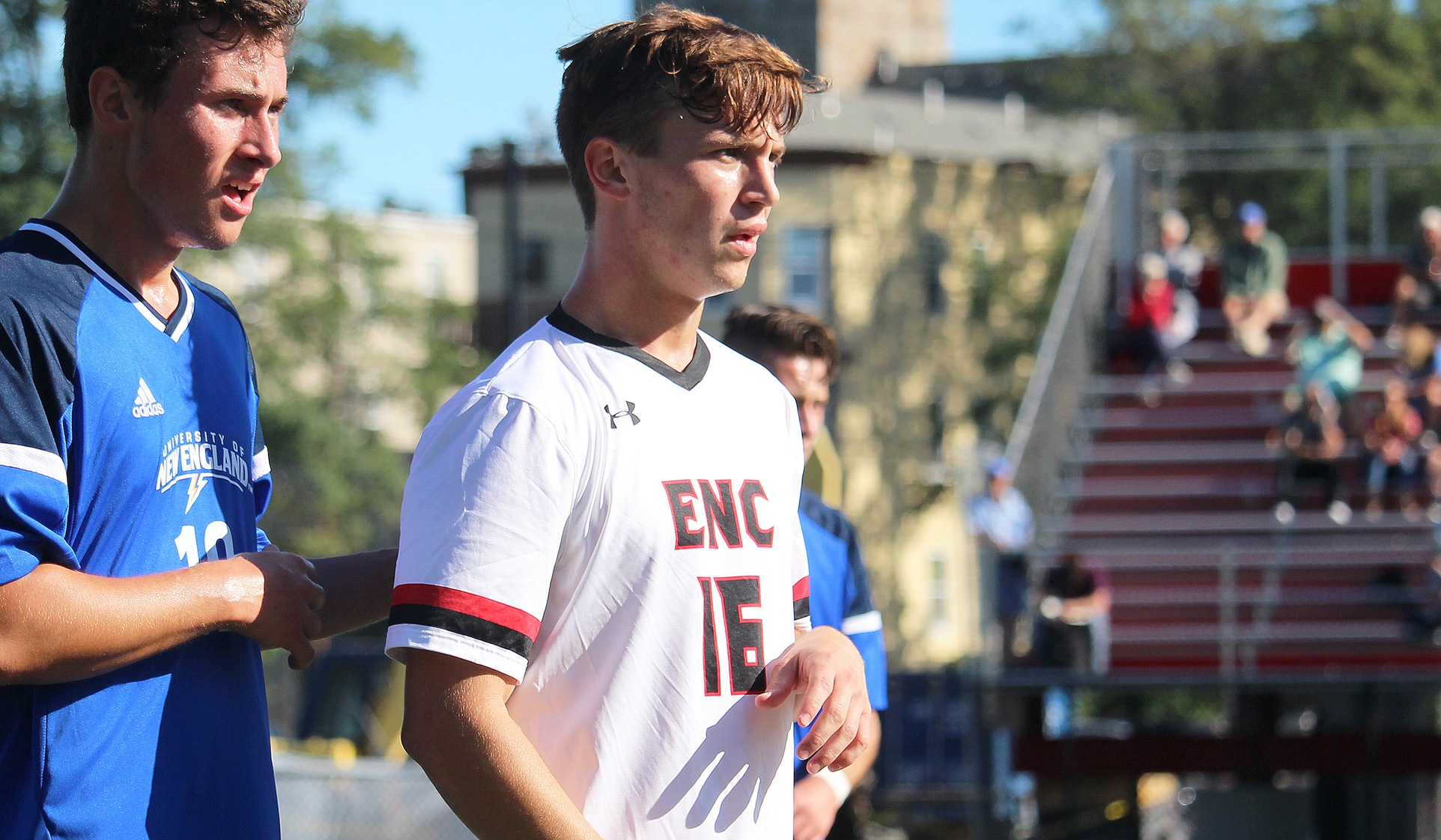 Men's Soccer Edged by University of New England, 1-0