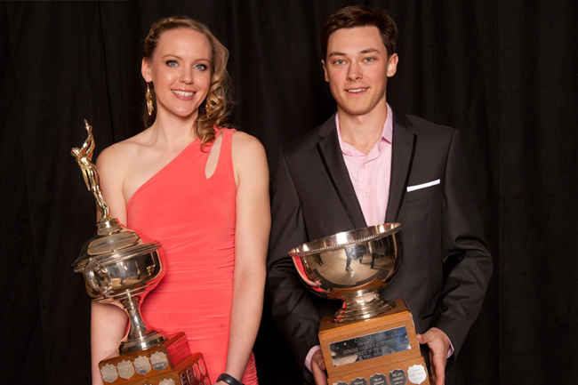 COLTON KALKANIS & SUMMER BLY ELECTED TO OCAA HALL OF FAME