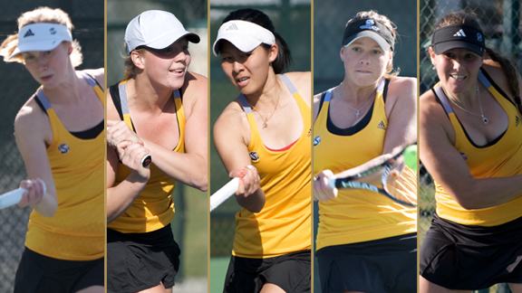 WOMEN'S TENNIS TEAM, FIVE STUDENT-ATHLETES EARN ACADEMIC AWARDS