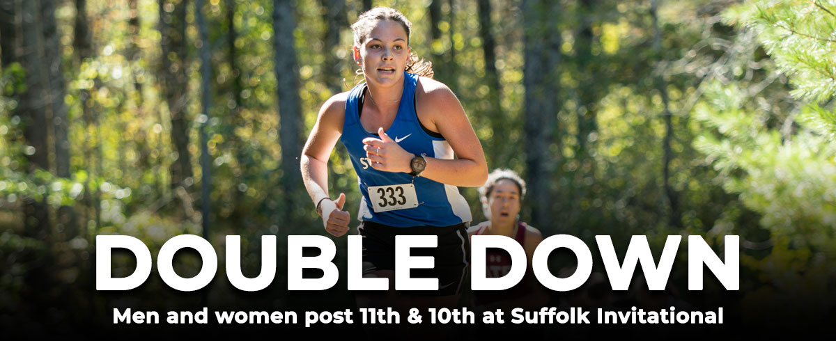 Men and Women Post 11th & 10th at Suffolk Invitational