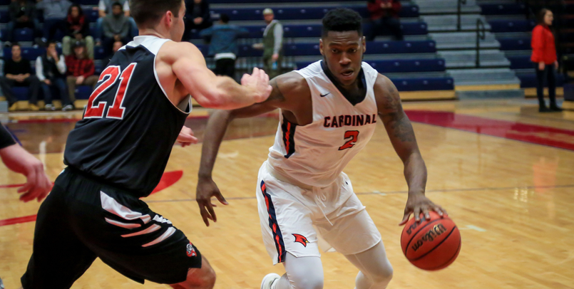 C.J. Turnage posted his second straight double-double in the victory over Lewis on Thursday night...