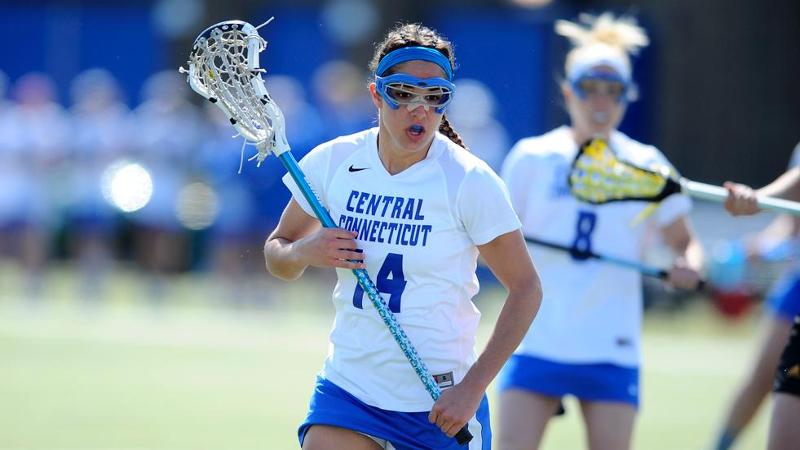 Women's Lacrosse Drops NEC Tourney Game to Bryant