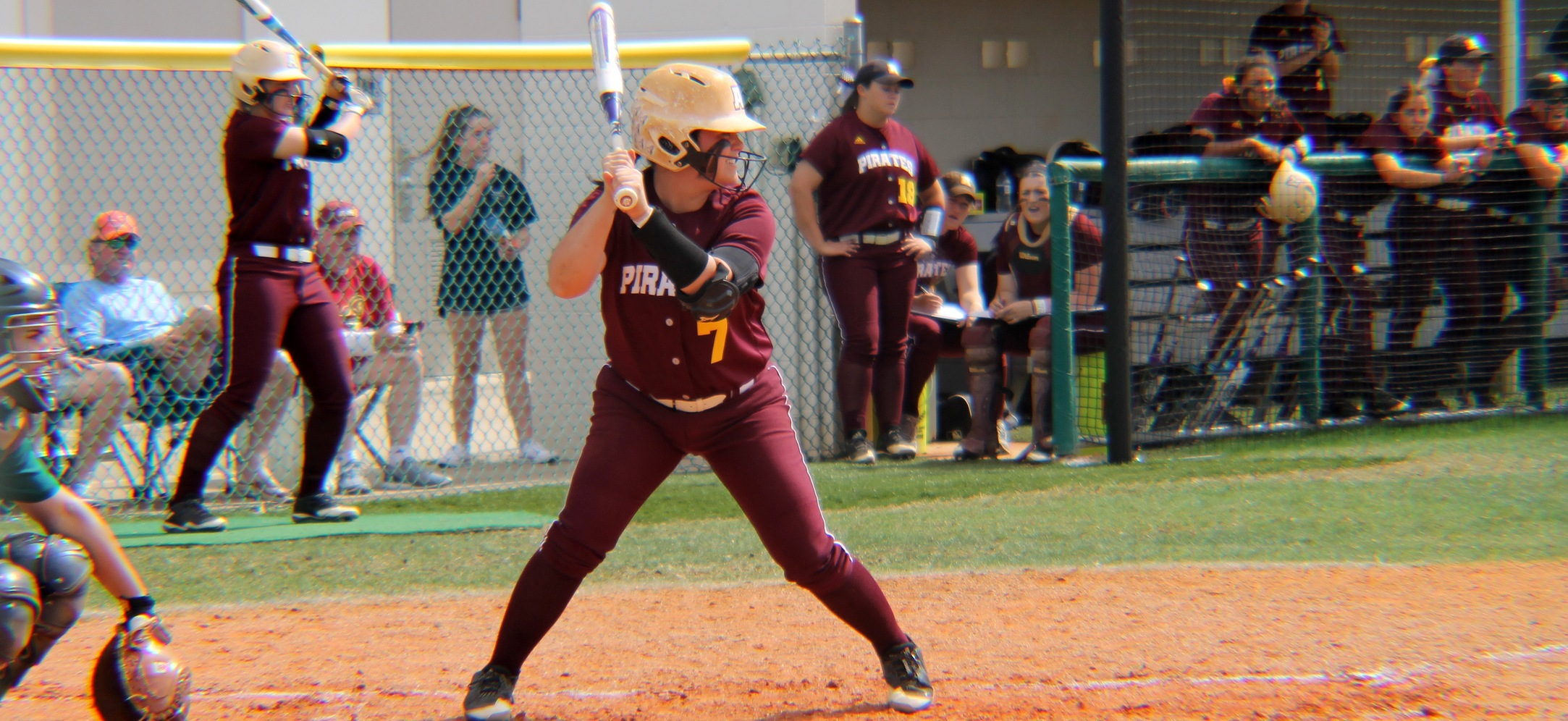 Pirate Softball Splits At No. 4 North Georgia On Sunday
