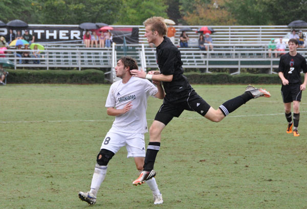 Men's Soccer: Greensboro stops Panthers 4-1