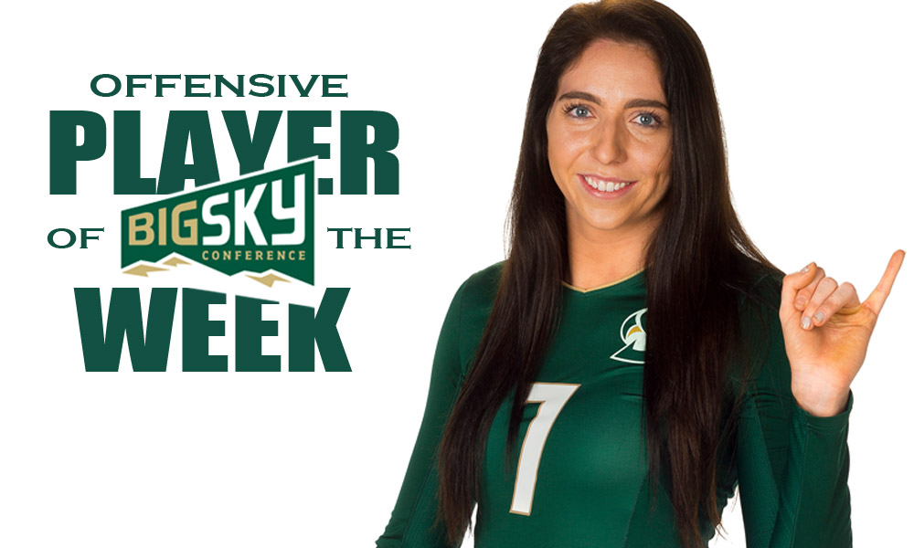 LANA BROWN NAMED BIG SKY OFFENSIVE PLAYER OF THE WEEK