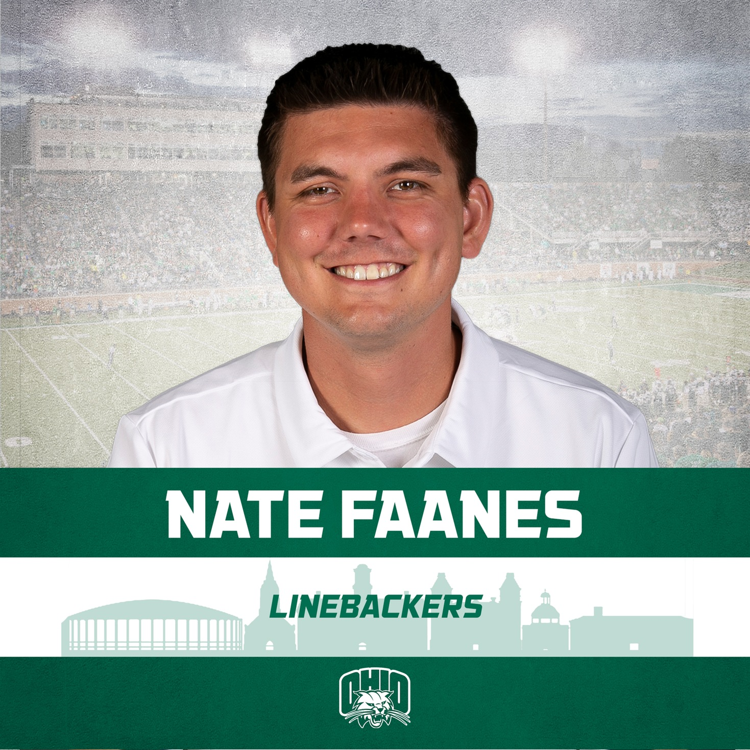 Ohio Football's Faanes Promoted To Linebackers Coach