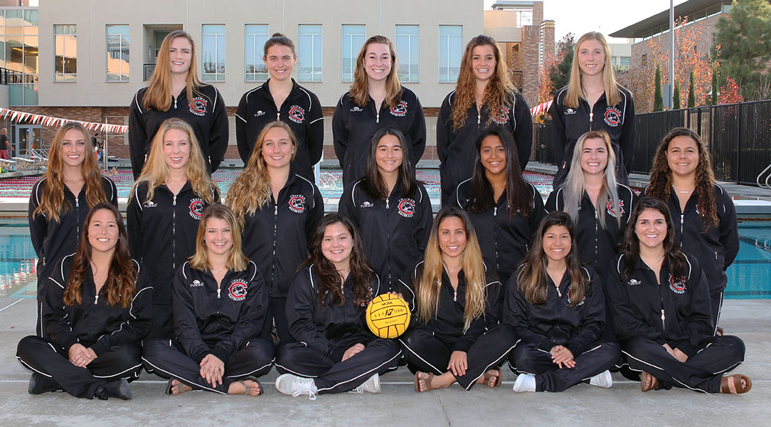 Women's water polo team picture.