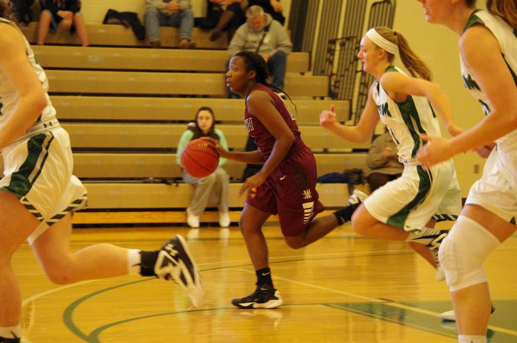 Third Quarter Boosts Walsh To Victory Over Clarion
