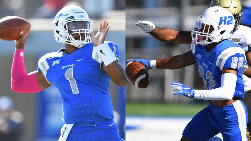 Winchester, Petteway Earn Northeast Conference Weekly Honors