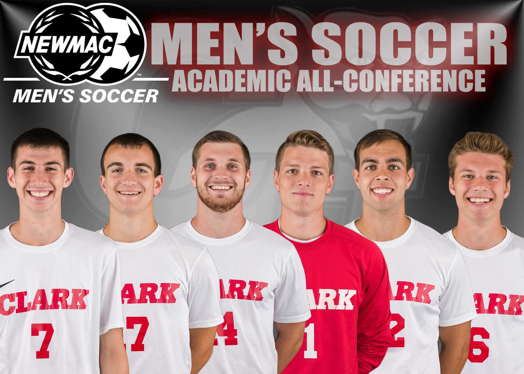 Men's Soccer Places Six on NEWMAC Academic All-Conference Team