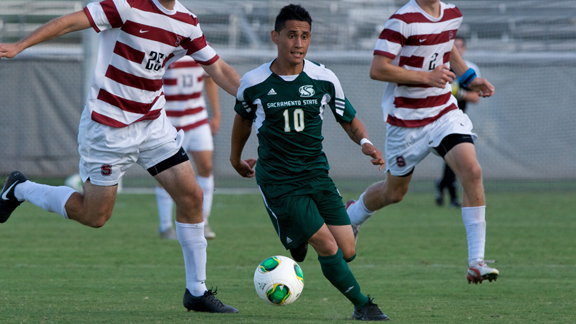 MEN'S SOCCER OPENS REGULAR SEASON FRIDAY AT SAN JOSE STATE