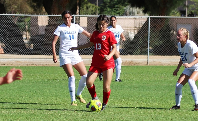 COD Women's Soccer: Guerrero grabs hat trick as Desert knocks off the Warriors, 5-1