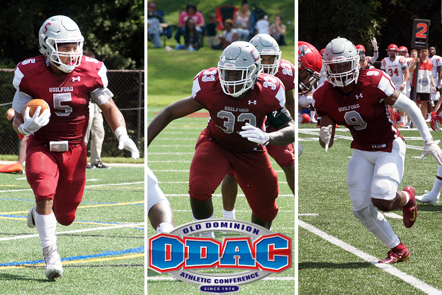 Eight Quakers Land on All-ODAC Football Team