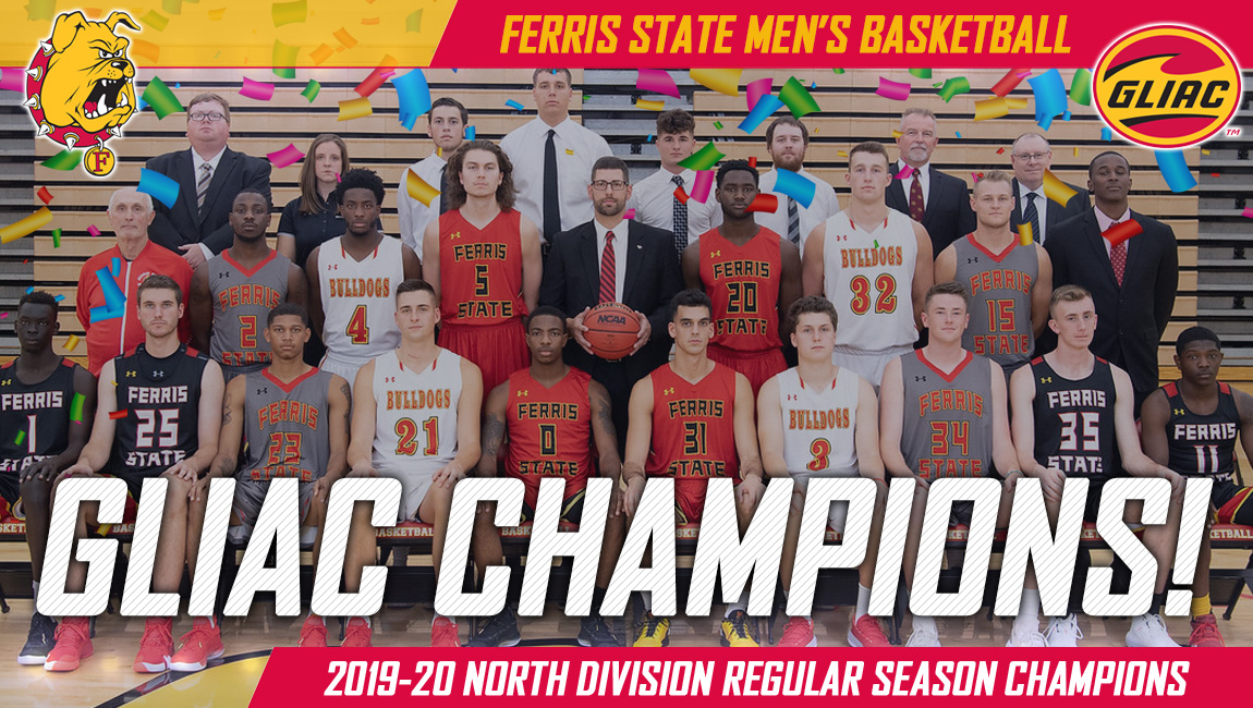 Ferris State Beats Parkside To Win Ouright GLIAC North Division Men's Basketball Title