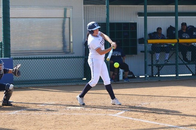 File Photo: Kristen Voller had one of the team's five hits in their 6-0 loss