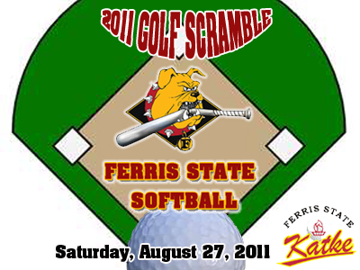 Ferris State Softball Golf Scramble Scheduled For August 27