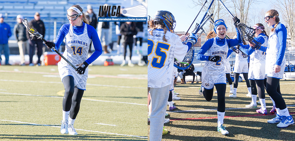 Eckert and Libby Named to IWLCA Academic Honor Roll