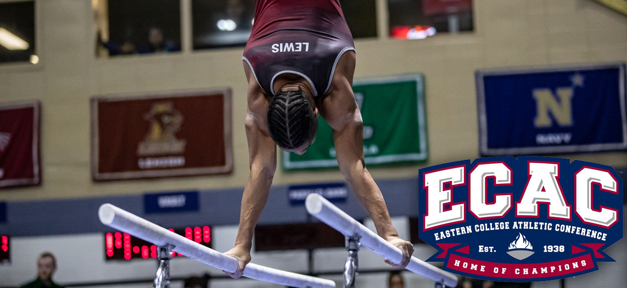 Lewis Tabbed ECAC Men's Gymnast of the Week