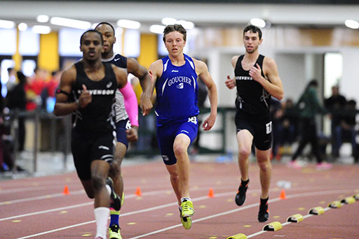 Freshman Records Top Two Times in 55m Hurdles